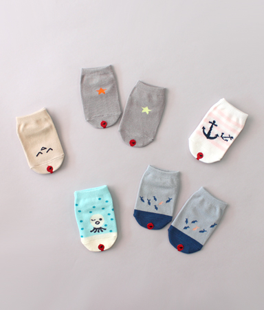[LOW CUT] Snorkeling Socks