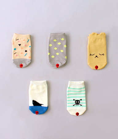 [LOW CUT] Wonderland Socks
