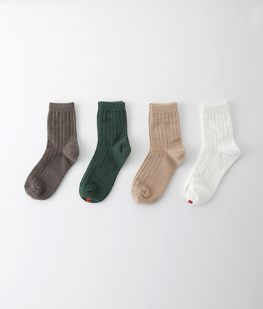 [ADULT] Plain Adult Socks