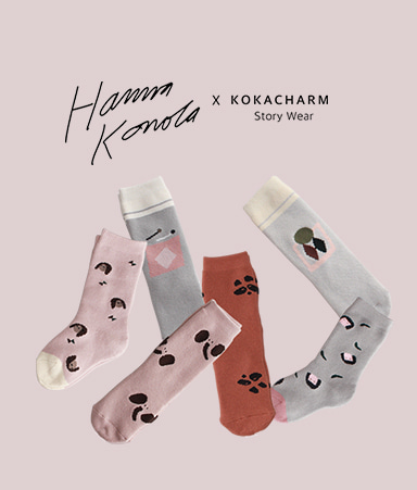 [ANKLE]HANNA COLLECTION SOCKS