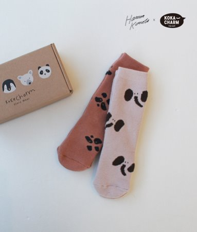 [ANKLE]HANNA COLLECTION_PANDA&ELEPHANT