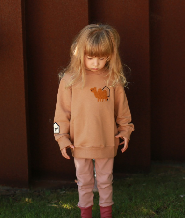 [Sweat Shirts&Pants SET] CAMEL
