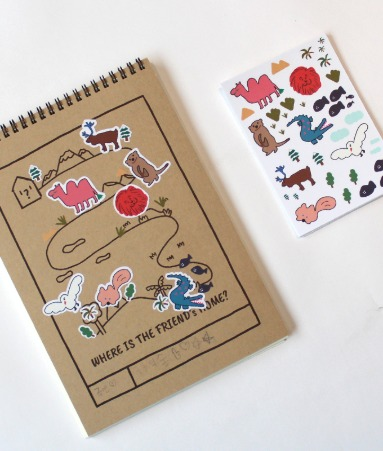 [GOODS] Drawing Book+Sticker