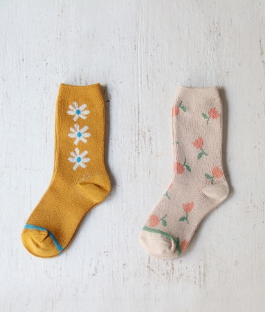 [ANKLE] Blossom 2 Pairs 1 SET