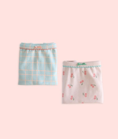 [UNDERWEAR] Cherry 2 pairs 1 SET_Girl