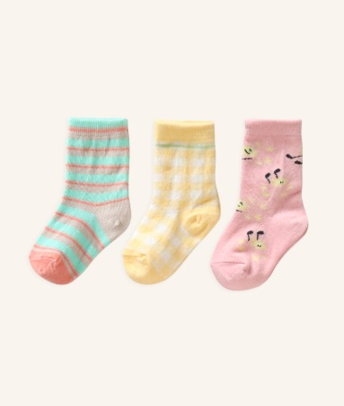 [ANKLE] DANDELION SONG 3 Pairs 1SET