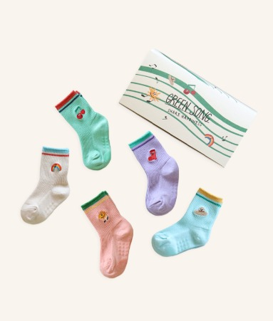 [ANKLE] Green Song 5 Pairs 1SET