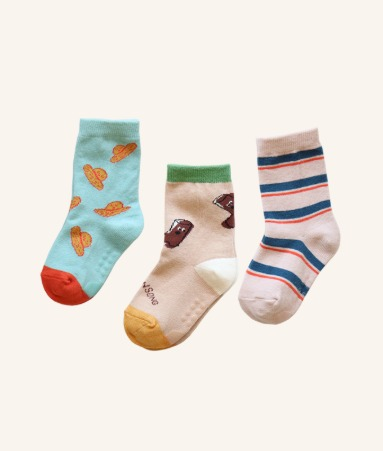 [ANKLE] Go! Gardening 3 Pairs 1SET