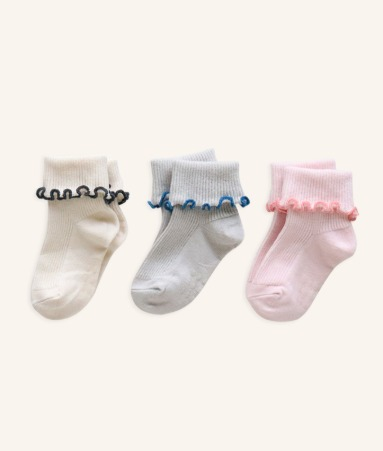 [ANKLE] Sally 3 Pairs 1SET