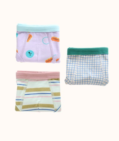 [UNDERWEAR]LITTLE FARMER 3 pairs 1 SET_Boy